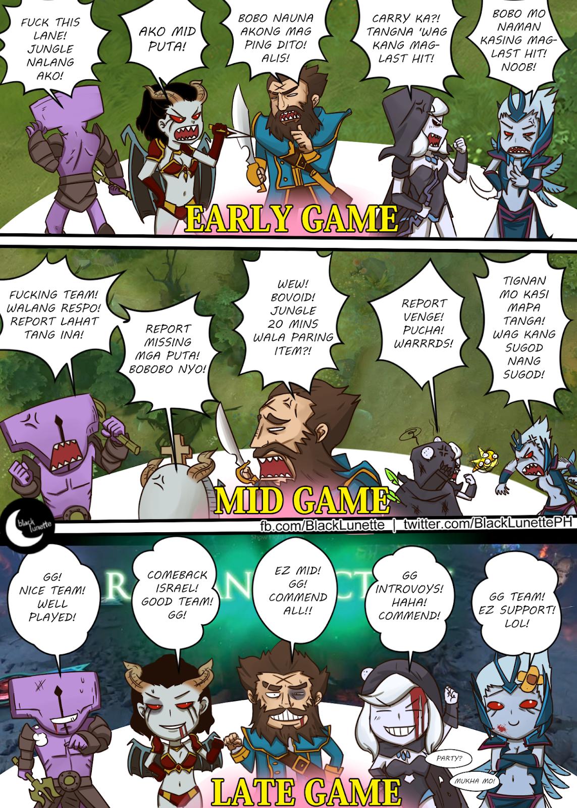 Black Lunette: filipino komiks tagalog