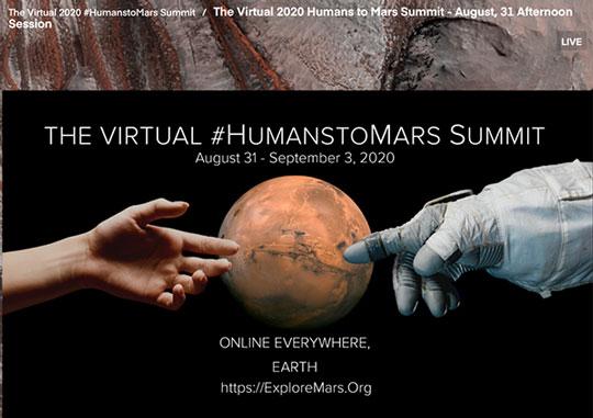 Humans To Mars Summit (Source: ExploreMars.org)