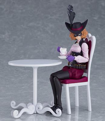 Imágenes y detalles del figma Noir de Persona 5 y su versión DX - Max Factory