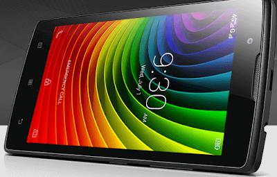 Contoh Smartphone Lenovo Seri A