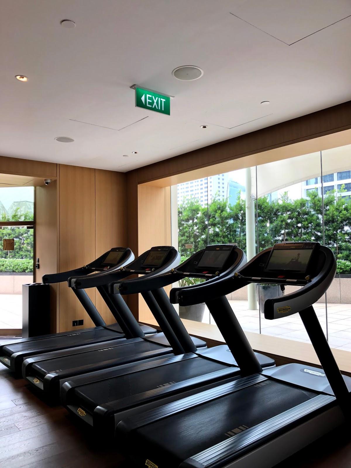 Conrad Centennial Singapore Gym