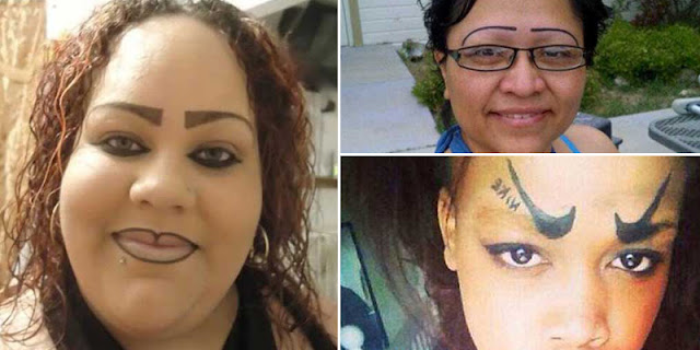 21 Girls Who Really Need To Sort Out Their Eyebrows