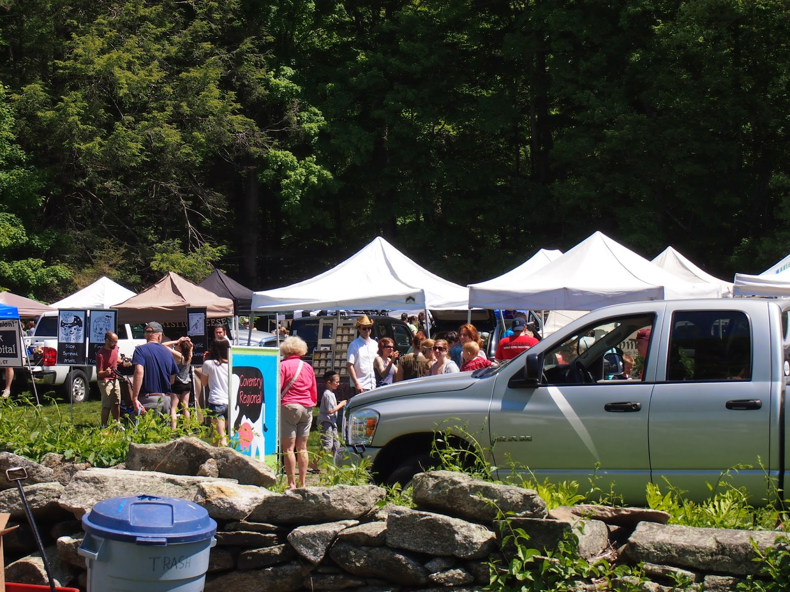 The Coventry Farmers Market in Connecticut