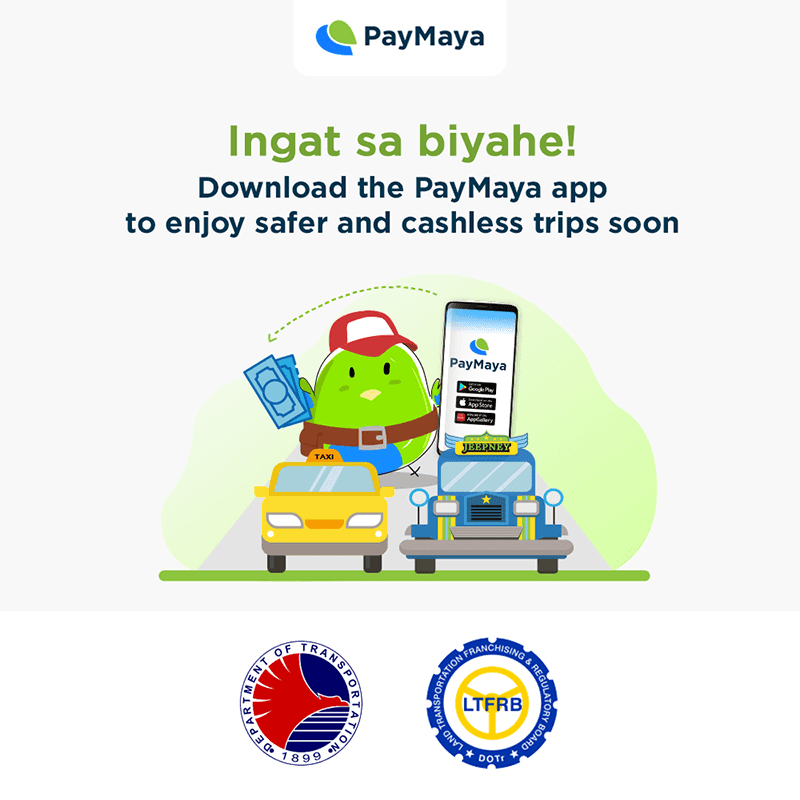 PayMaya, LTFRB, and DOTr provides cashless payments and additional livelihood to PUV drivers