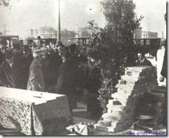 10-12-1920 la posa  della prima pietra