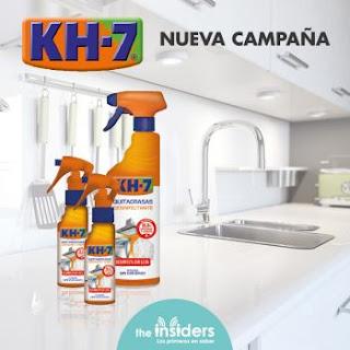 Prueba KH7 Quitagrasas desinfectante