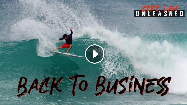 SURFING ROCKY S BACKDOOR NORTH SHORE HAWAII Zeke Lau Unleashed