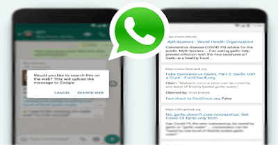 WhatsApp launches 'Search the Web' feature,