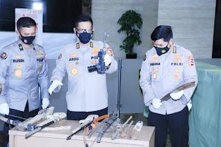 Bungker Persembunyian Teroris Upik Lawanga Ditemukan dilampung