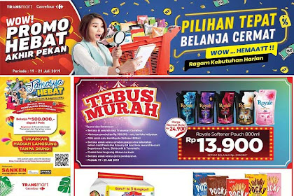 Katalog Promo Carrefour Weekend JSM 19 - 21 Juli 2019