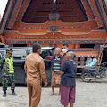 TNI Dampingi Kementerian PUPR Tinjau Hutaraja Samosir