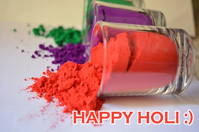 Wish happy holi to your friends, family and colleagues - Holi Greeting images