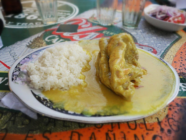 Preparación del Pepián de Pavo con Garbanzos preparado en Chiclayo, Lambayeque. Imagen proporcionada por Mario Burga U via Flickr.