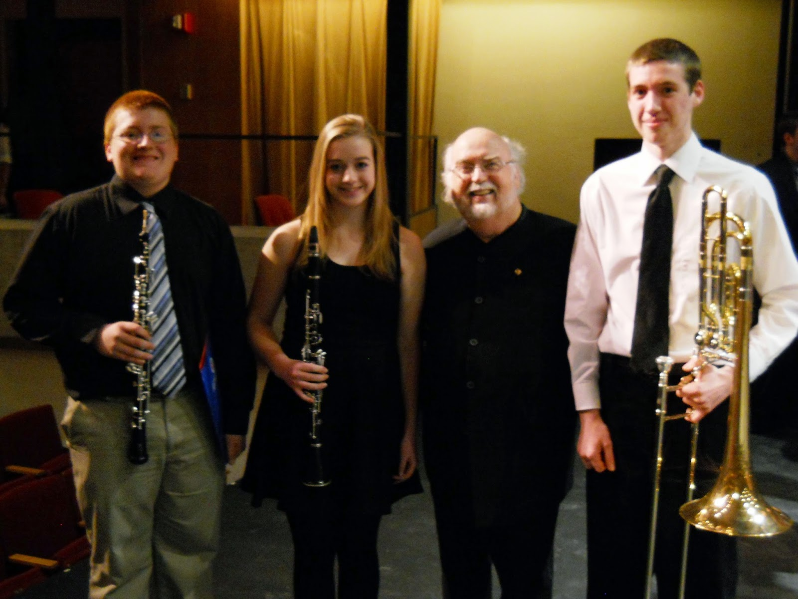 PDCHS Band Members Participate in Tri-State Honors Band