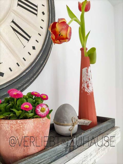 trash-to-terracotta: acryl-backpulver-patina-diy-blumentopf-vase