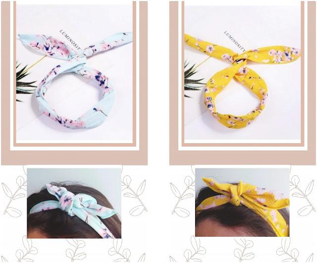 hair, headband, traka za kosu, spring, proljeće, ljeto, summer, flower, floral, print, cvjetni uzorak