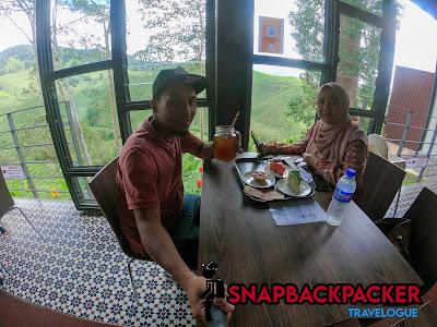Makan Di Cafe Boh Tea Garden