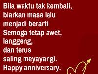 Gambar Kata-Kata Happy Anniversary Paling Mesra Dan Romantis