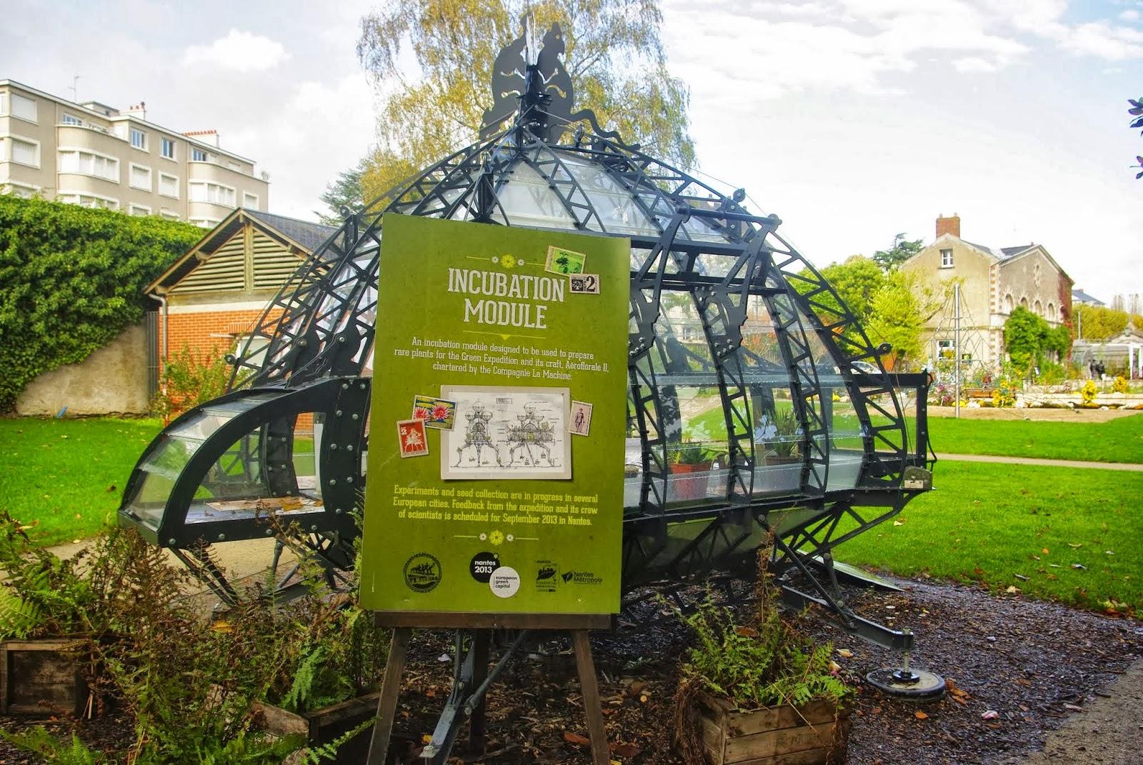 Flore en Valois: Jardin des Plantes de Nantes : palmarium ...