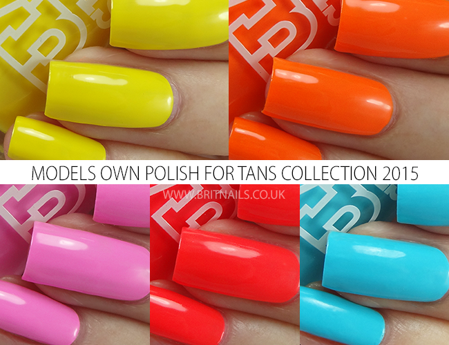 Models Own Polish For Tans Collection 2015