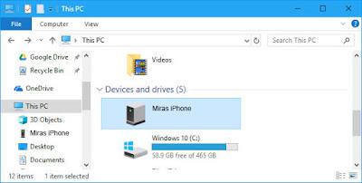 Cara Memindahkan Foto dari iPhone ke PC/Laptop - terhubung