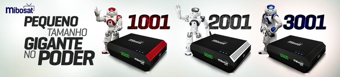 Conheça os novos Receptores MiboSat