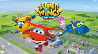 Download Game Super Wings Jett Run Apk Mod Free