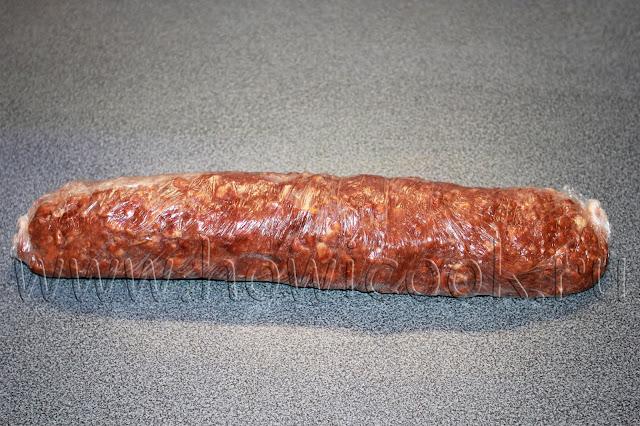 рецепт шоколадной колбаски с пошаговыми фото