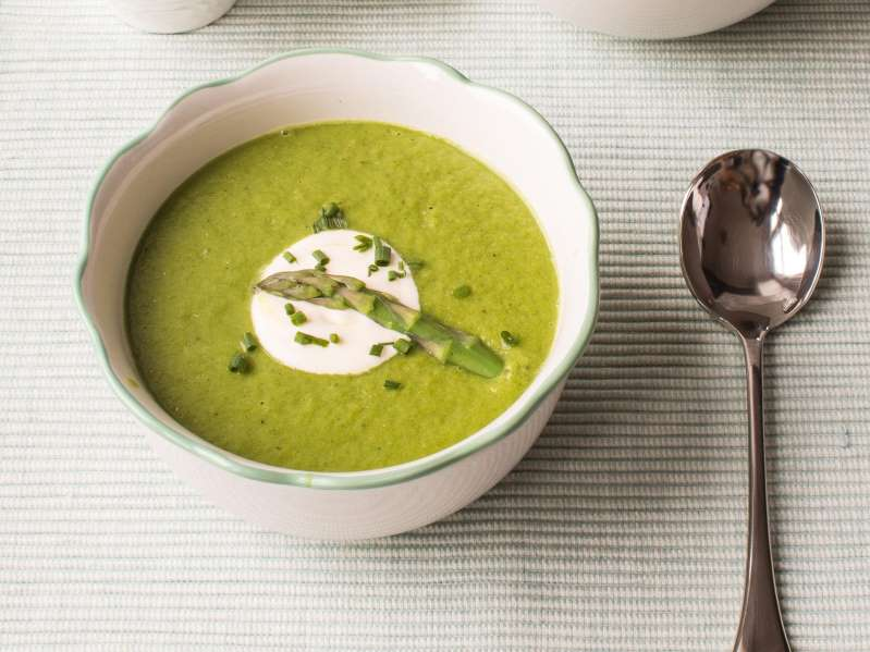 soups in winter? - Page 2 Asparagusandspinachsoup