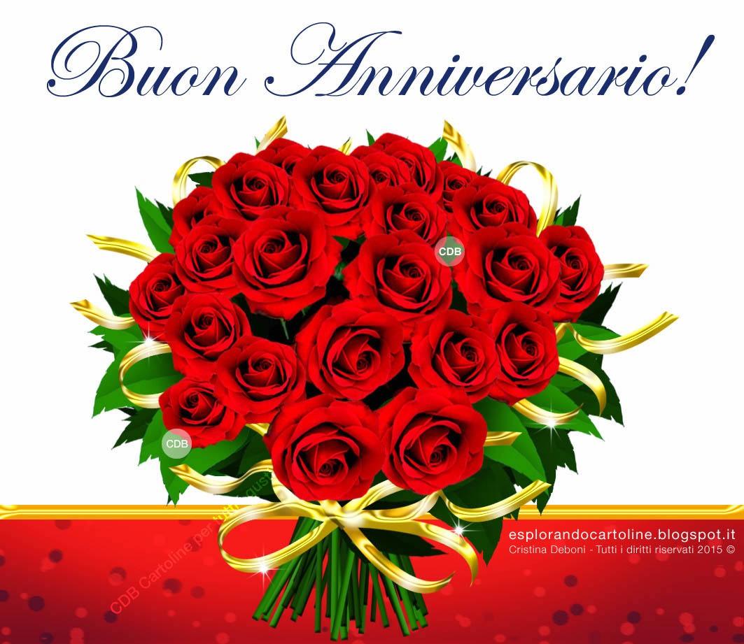 Cartoline Anniversario Matrimonio.Cdb Cartoline Per Tutti I Gusti Cartolina Buon Anniversario Di