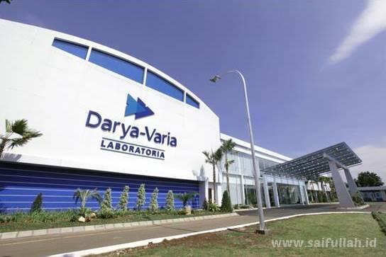 Lowongan Kerja Teknisi PT. Darya-Varia Laboratoria Tbk Gunung Putri - Bogor