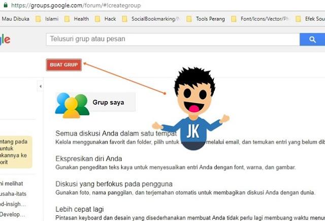 Membuat Grup Web Forum di Google Groups