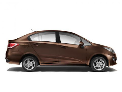 The All new 2016 Proton Persona Carnelian Brown
