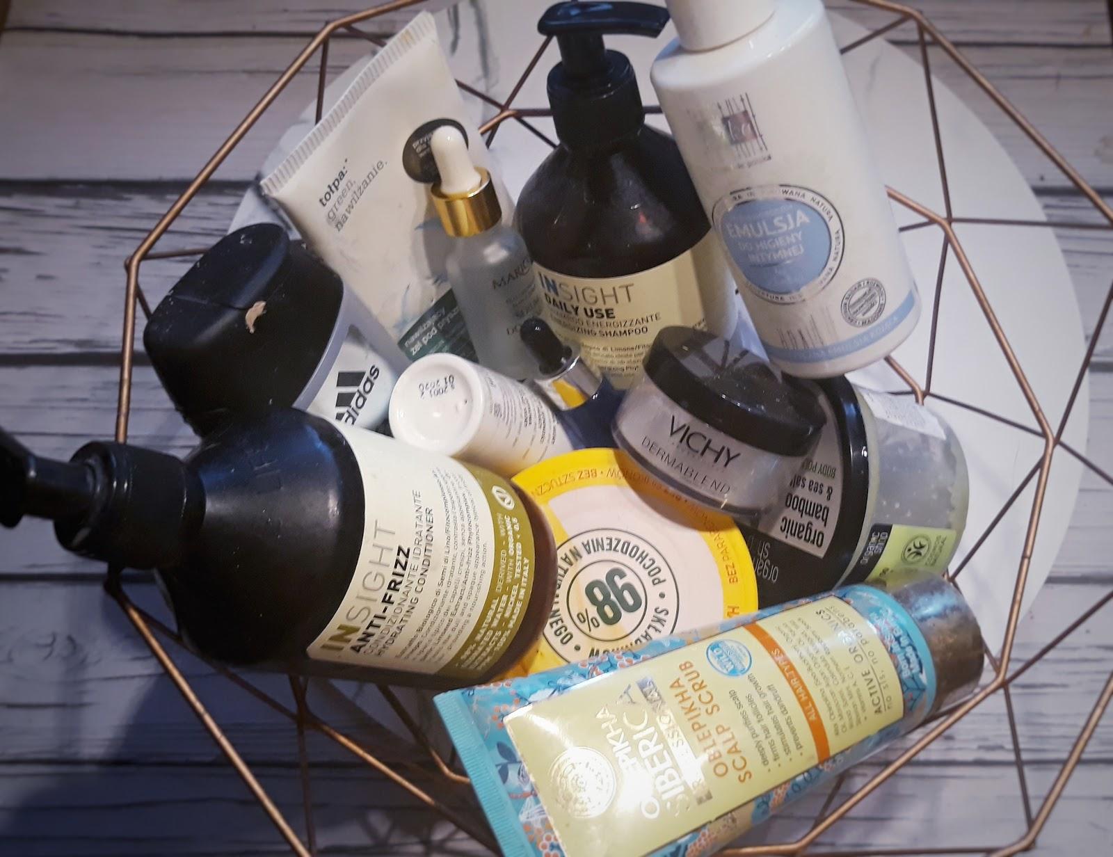 Testowanie Kosmetyków Denko Lipcowe