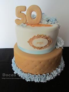 bolo 50 anos bragança