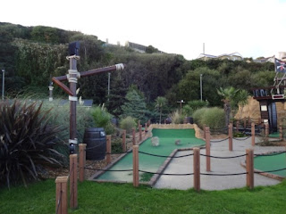 Pirates Cove Adventure Golf course on Shanklin Seafront