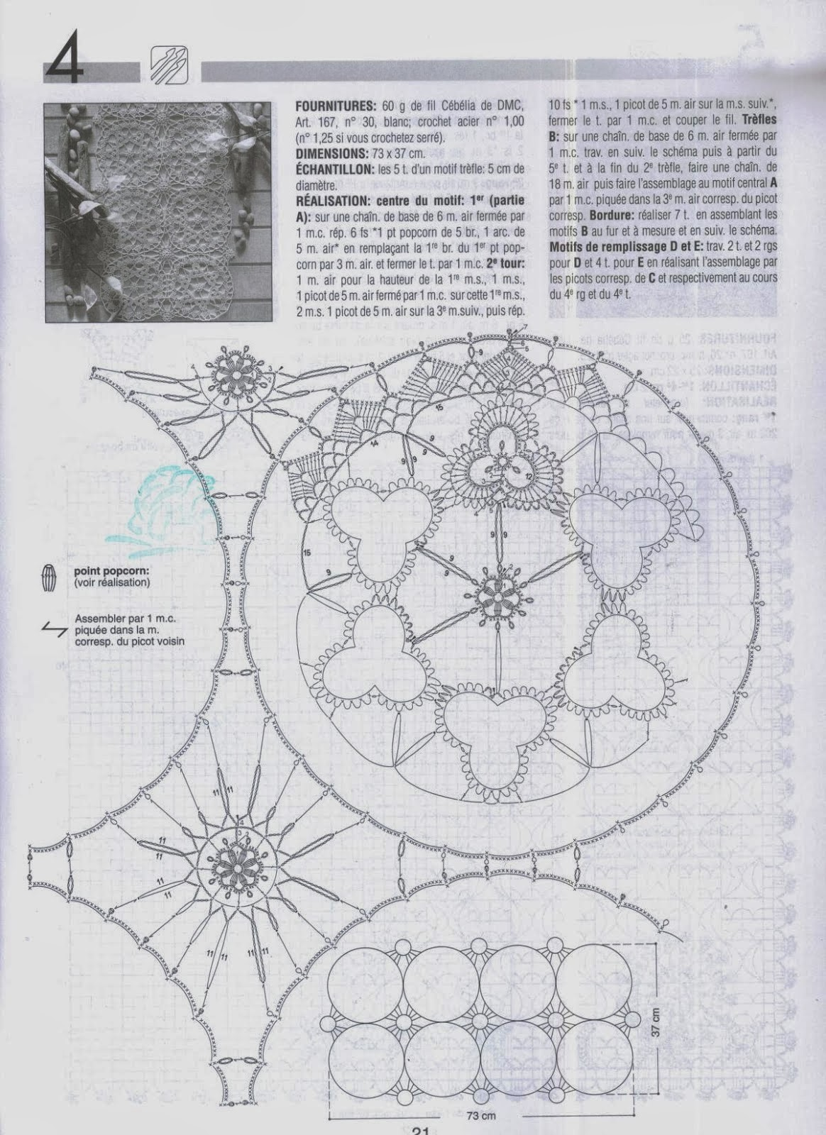 Lo spazio di lilla schemi all 39 uncinetto crochet patterns for Schemi bordi uncinetto