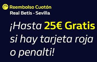 william hill Reembolso Cuotón Betis vs Sevilla 10-11-2019