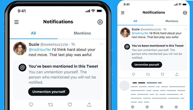 Twitter Unmention: Twitter Feature that will Let Users untag themselves: eAskme