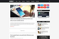 Speedify adalah template blogger eksklusif profesional, tidak memiliki versi gratis , dan sepenuhnya dapat disesuaikan sehingga Anda dapat mengembangkan desain unik Anda sendiri, Speedify juga SEO Optimized untuk memberikan Anda hasil pencarian yang lebih baik dengan meningkatkan lalu lintas organik blog Anda, juga memiliki bagian untuk iklan di dalamnya posting, sehingga Anda dapat meningkatkan penghasilan Anda.