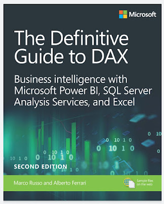 The Definitive Guide to DAX: Business intelligence for Microsoft Power BI, SQL Server Analysis Services, and Excel