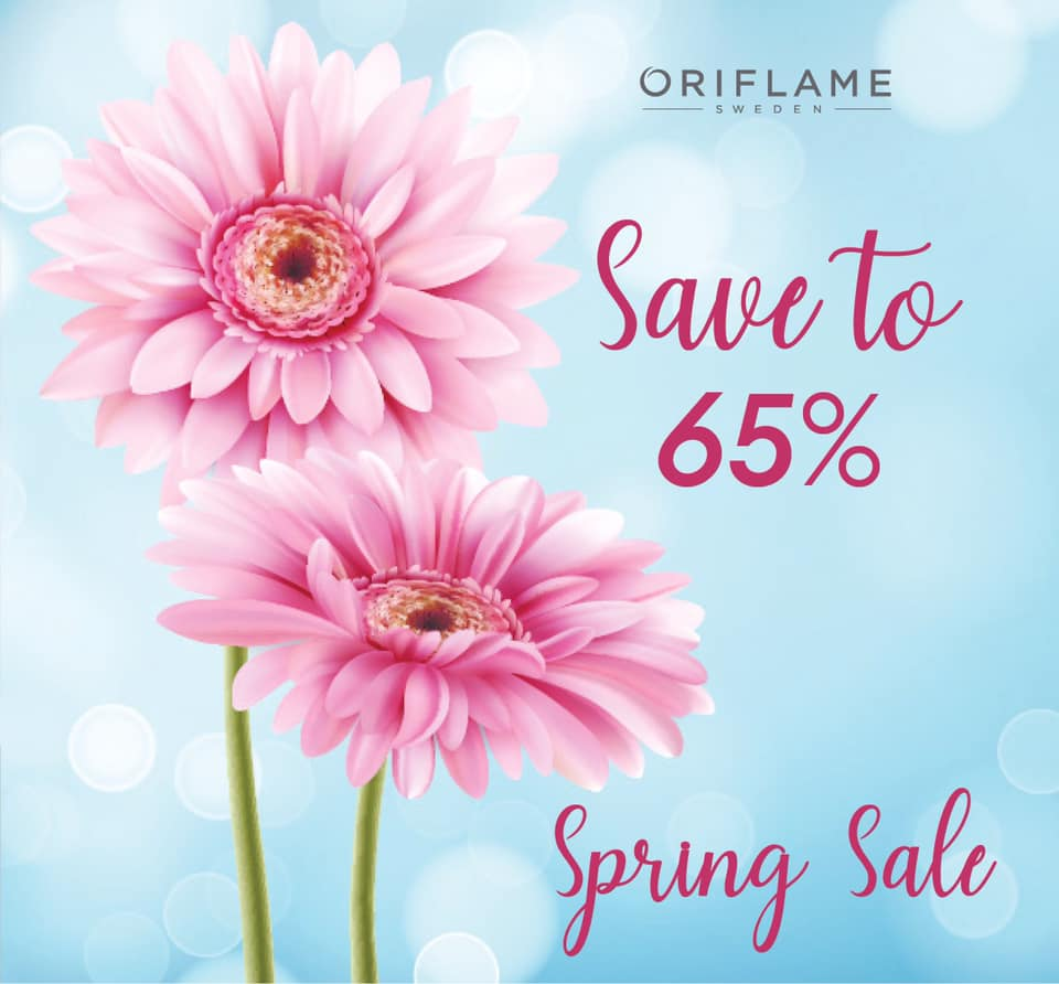 عروض اوريفليم Oriflame من 21 ابريل حتى 22 ابريل 2020 خصومات حتى 65 %