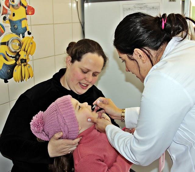 Armazém da Família recebe posto de vacinação