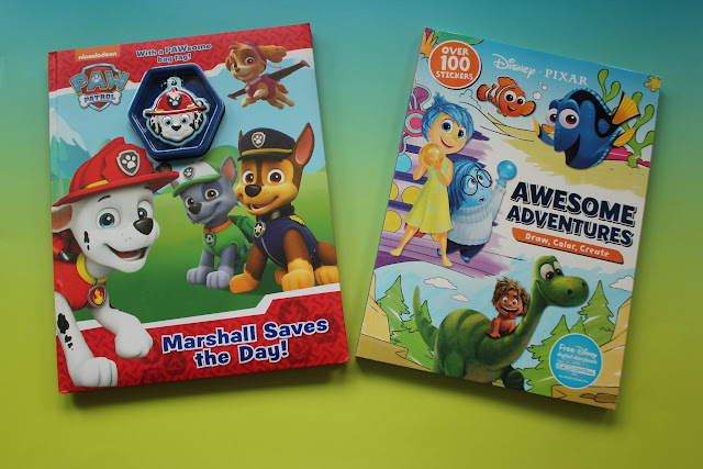 Join Peppa Pig, Disney Princesses, The Hungry Caterpillar and more in the newest title of activity books for kids from Parragon!
