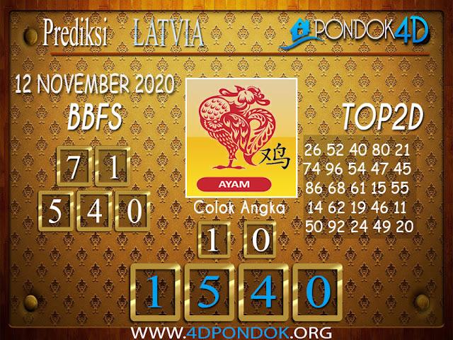 Prediksi Togel LATVIA PONDOK4D 12 NOVEMBER 2020