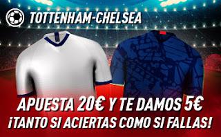 sportium promocion Tottenham vs Chelsea 22 diciembre 2019