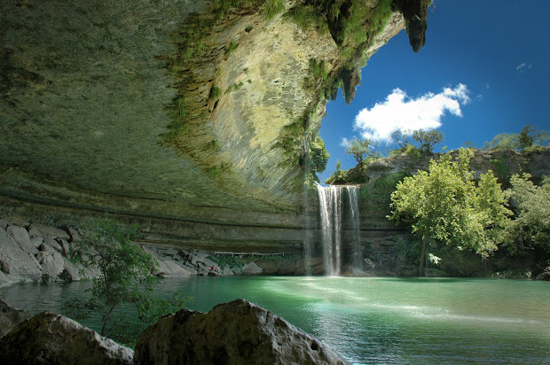 Hamilton Pool Austin Texas USA