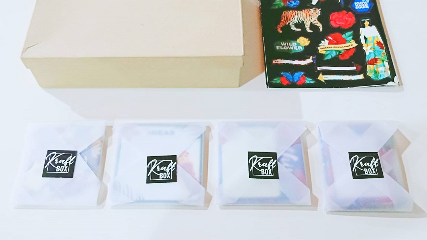 Kraft Box Unboxing - Creative Nature by Sab Palmares | Crazy about Paper -- Top arts, beauty, fashion, lifestyle, skincare Blog/website in Quezon City, Philippines