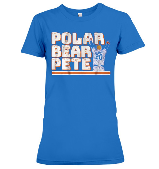 Polar Bear Pete Alonso T Shirts Hoodie Sweatshirt Sweater Tank Tops