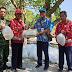 Dukung Pelestarian Lingkungan, Babinsa Wotgalih Dampingi Penebaran Bibit Ikan
